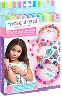 Набор для творчества Make It Real Браслеты с бусинами Galaxy Jewelry