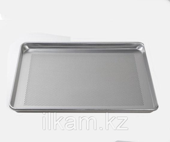 Поднос алюминиевый с дырочками 60Х40 см, фото 2