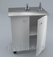 Стол-тумба химический, 2 дверцы, полка, ц/м, 900х600х900 мм