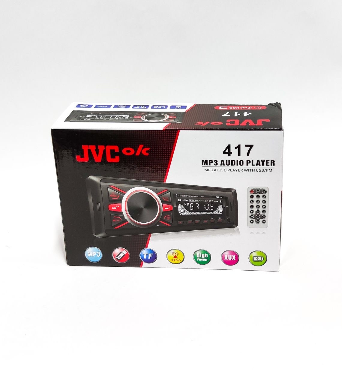 Автомобильный магнитола JVC KD-R417