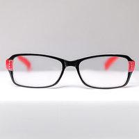 Очки корригирующие 1320, размер 14х13,2х3,8, цвет красно-чёрный, -1