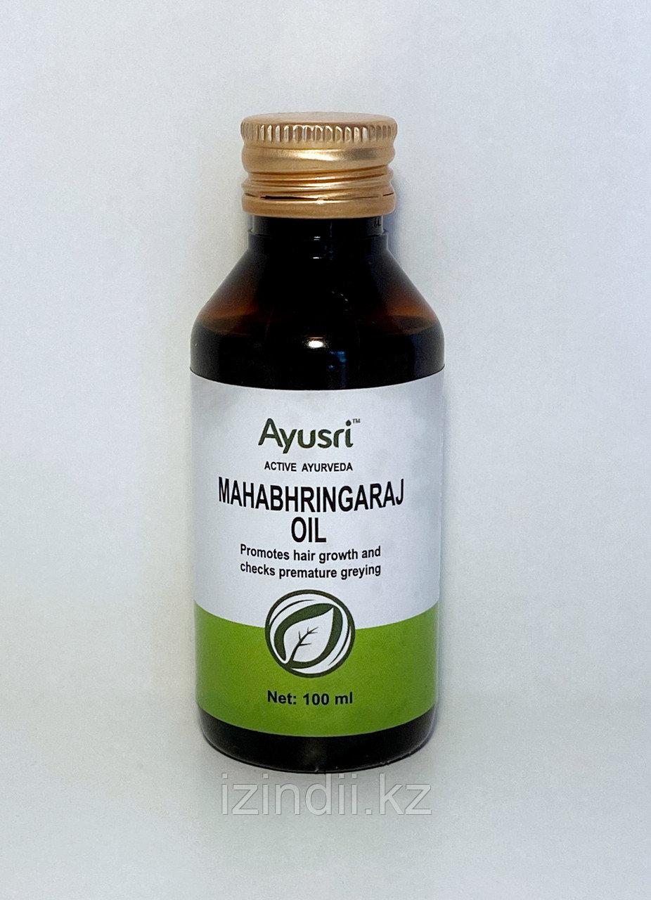 Масло для волос Махабрингарадж, 100 мл, Mahabhringaraj Oil, Ayusri