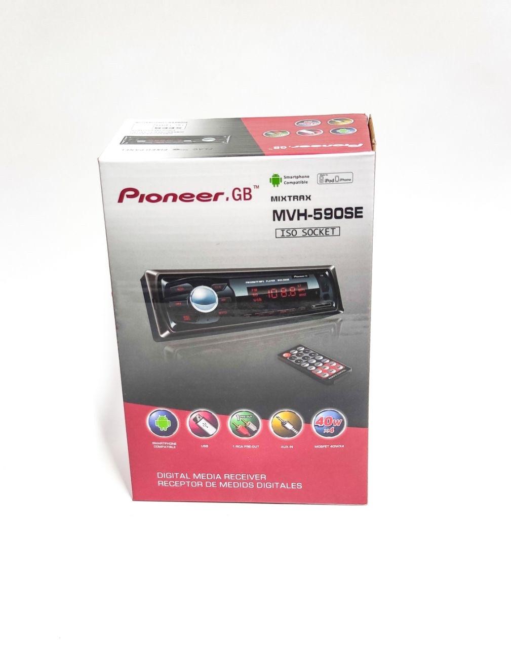 Автомобильный магнитола Pioneer.GB MVH-590 S E