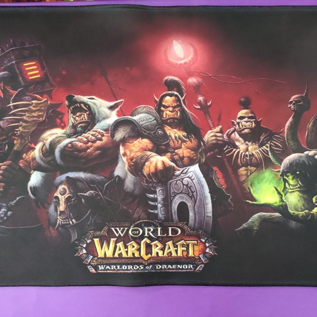 Коврик World Of Warcraft.