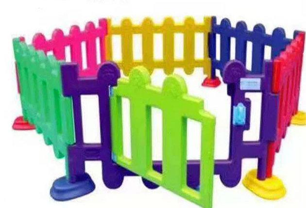 Детский игровой заборчик высокий, секционный (1 метр), фото 2