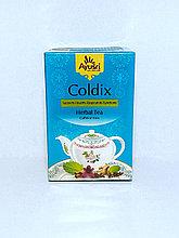 Аюрведический чай от кашля, Coldix, 40 гр, Ayusri