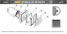 Воздушно-отопительный агрегат ( тепловентилятор ) Volcano VR MINI EC (3-20 КВТ; 1100-2100М³/Ч), фото 3
