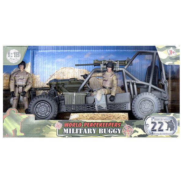 Миротворцы мира Игровой набор Багги и 2 фигурки военных, в ассортименте