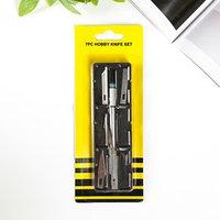 Инструмент для творчества нож  6 лезвий металл