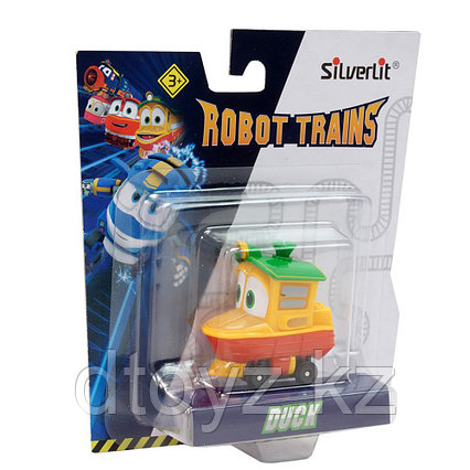 Robot Trains Паровозик Утенок 80157