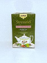 Аюрведический травяной чай СТРЕССРИД,40 гр,  Stresrid Herbal Tea, заряжающая энергией и придающая бодрость
