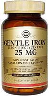Solgar, Хелат Железа, 25 мг, 90 растительных капсул