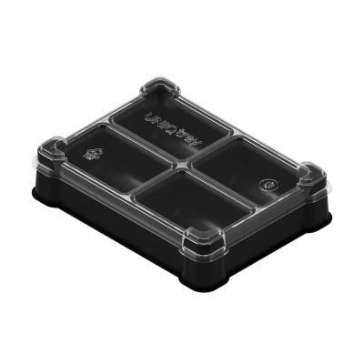 Пластиковая коробочка UniqTraySystem Token FOUR (4 секции)