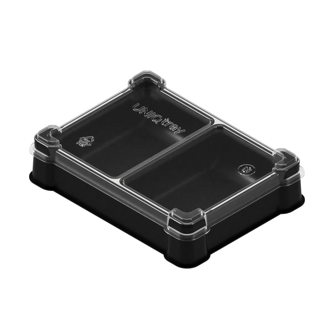 Пластиковая коробочка UniqTraySystem Token TWO (2 секции)