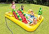 Надувной игровой бассейн Intex Фрукты 244*191*91 см