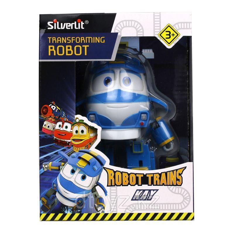 Robot Trains Паровозик Кей, 10 см 80164