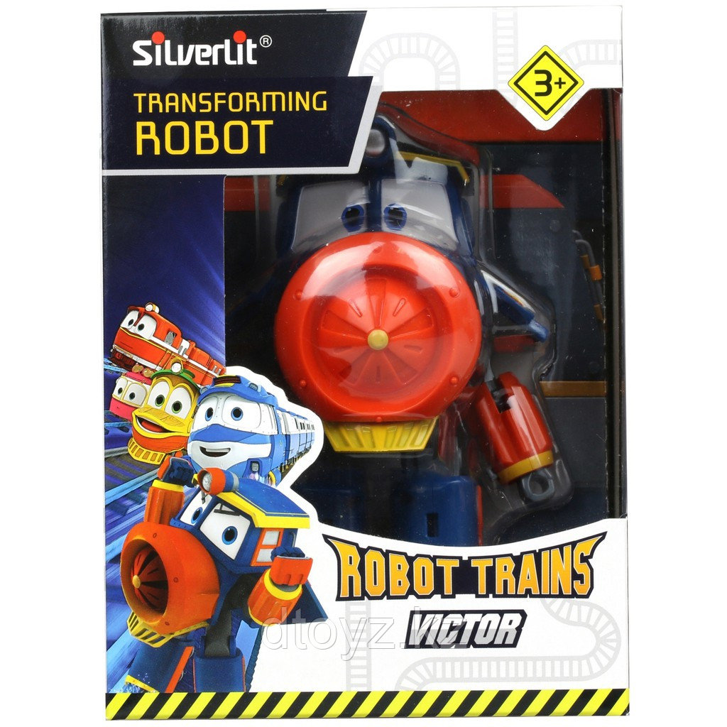 Robot Trains Паровозик Виктор 10 см 80168