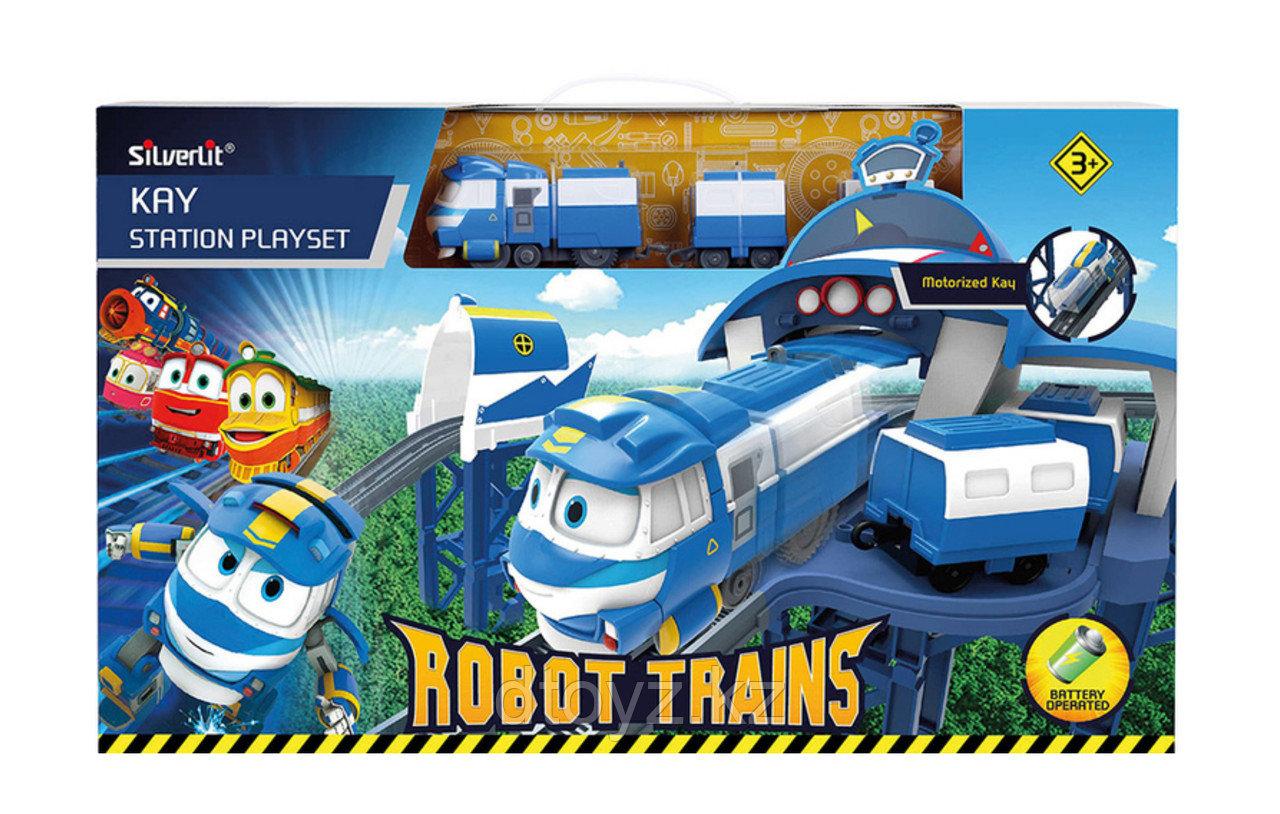 Robot Trains Игровой набор - Станция Кея 80170