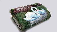 """Одеяло полуторное """"Лебеди"""""""
