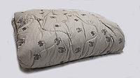 Одеяло полутороспальное (верблюжий пух+пух козы)