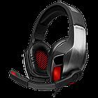 Игровые стереонаушники SVEN A с микрофоном (AP-U995MV) черный-красный