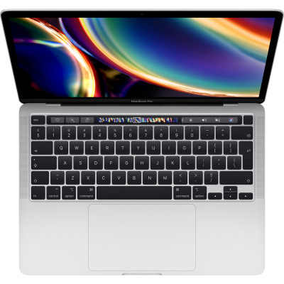 MacBook Pro 13-inch with Touch Bar 2.0GHz quad-core 10th-generation Intel Core i5 processor, 1 TB Silver