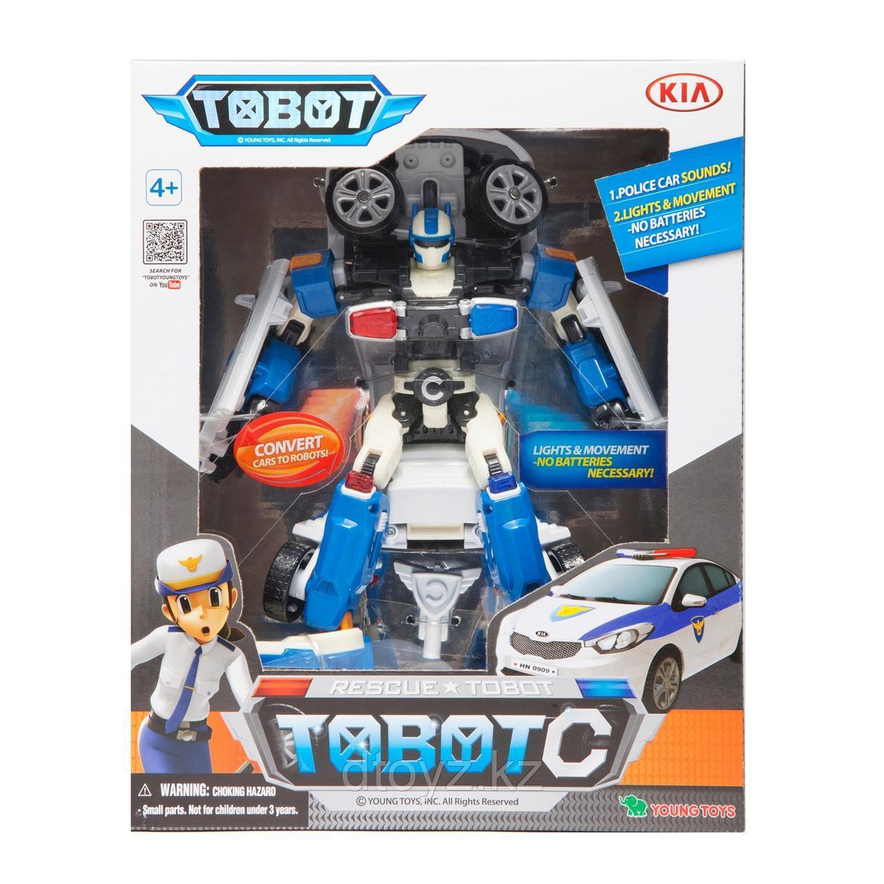 Трансформер Tobot C Полиция 301014