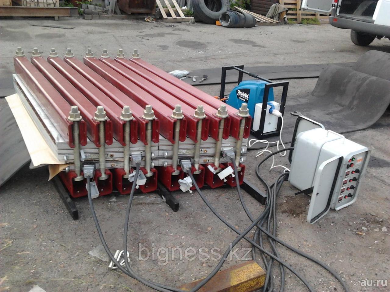 Стыковка конвейерных (транспортерных) лент способом горячей вулканизации