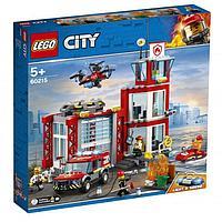 Lego 60215 Город Пожарные: Пожарное депо