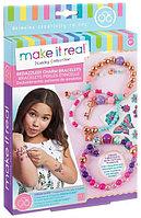 """Make it real 1202 Набор для создания браслетов с татуировками """"Цветы"""""""