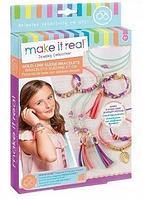 """Make it real 1207 Набор для создания браслетов и ожерелья """"Золотое изделие"""""""