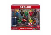 Роблокс 10763 - Игровая коллекционная фигурка Environmental Set Heroes of Robloxia, набор 8 шт.