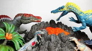 Игрушки фигурки интерактивные динозавры