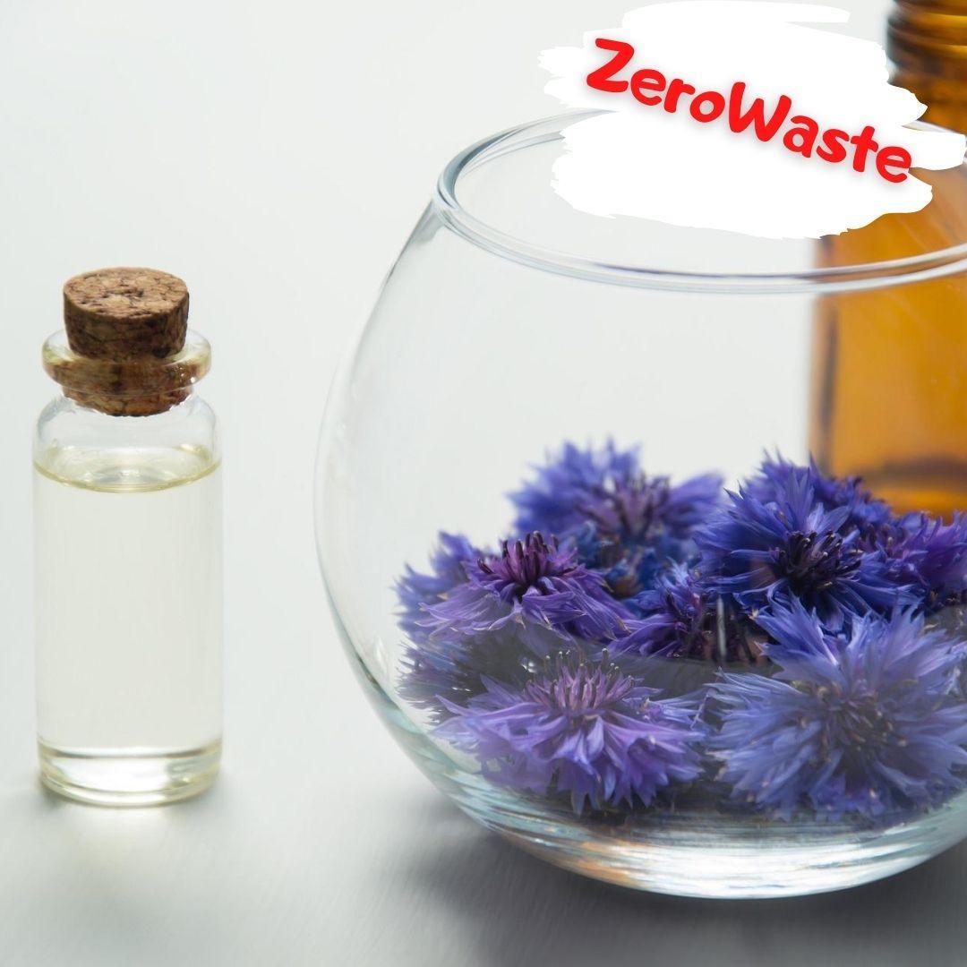 Натуральный гидролат из цветов василька с гиалуроновой кислотой на розлив