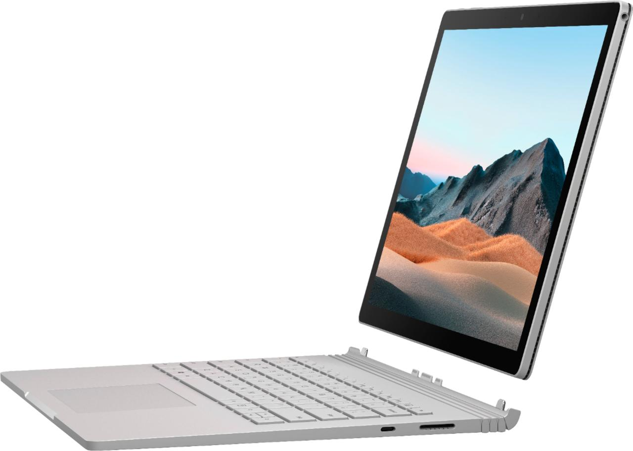 "Surface Book 3 13.5"" Touch-Screen PixelSense - Intel Core i7 - 16GB Memory 256GB SSD NVIDIA GeForce"
