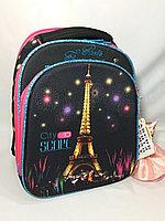 """Школьный ранец """"IMPREZA"""" для девочек,1-2 класс.Высота 36 см, ширина 27 см,глубина 15 см., фото 1"""