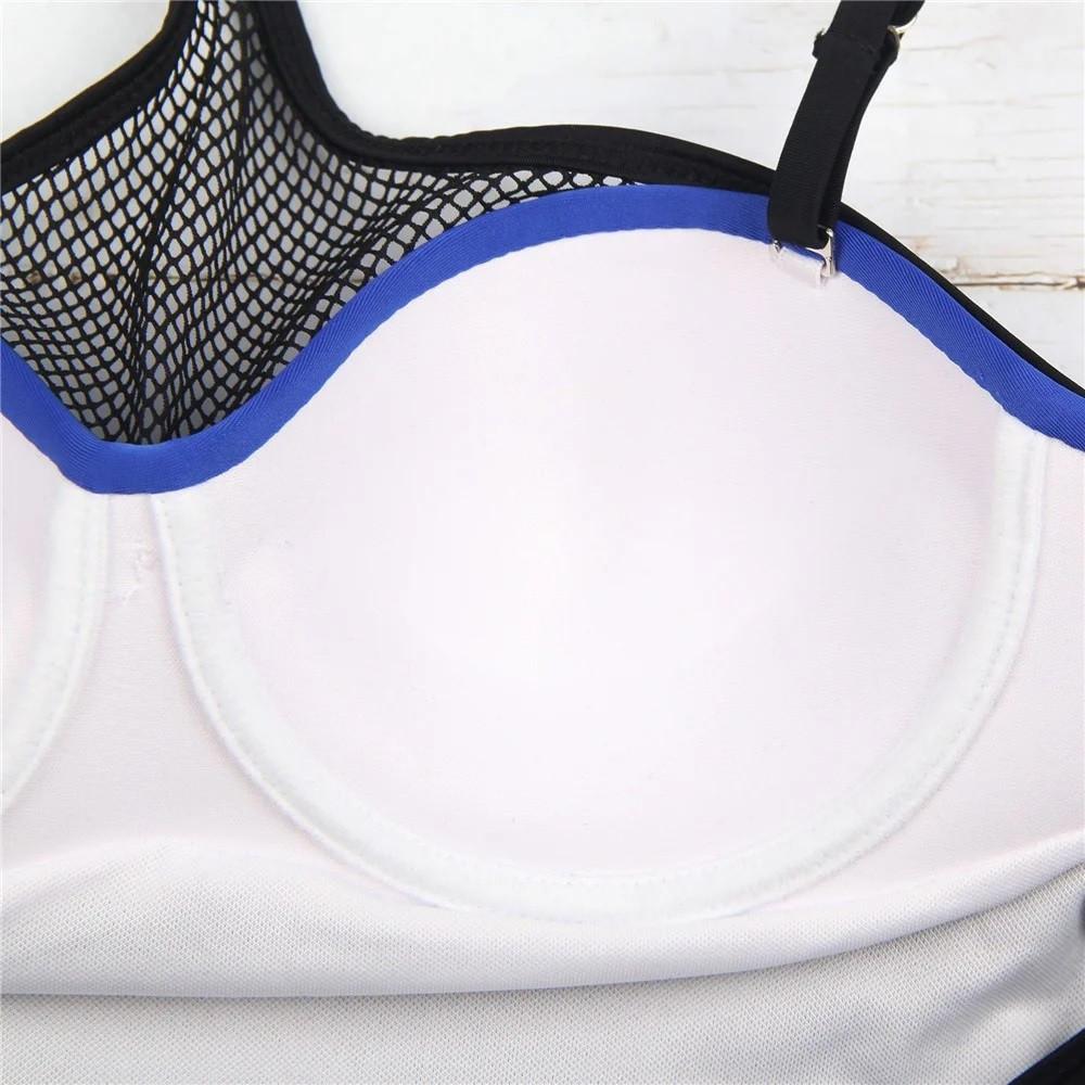 Купальник слитный Mesh Blue S, M, L, XL XL - фото 7