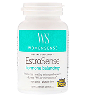 Natural Factors, WomenSense, EstroSense, Hormone Balancing, 60 растительных капсул
