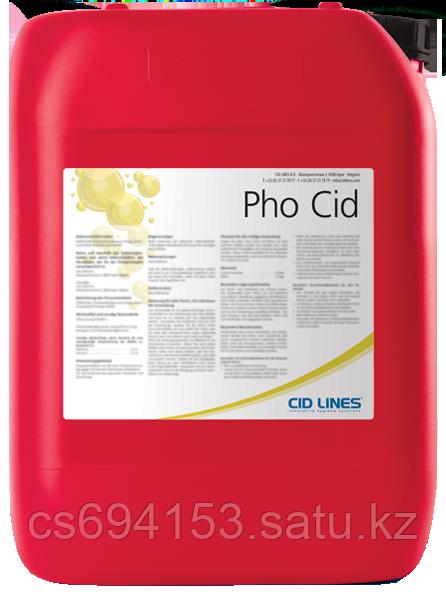 Фо Сид (Pho Cid):Кислотное моющее и дезинфицирующее средство для гигиены оборудования (СИП-мойка)