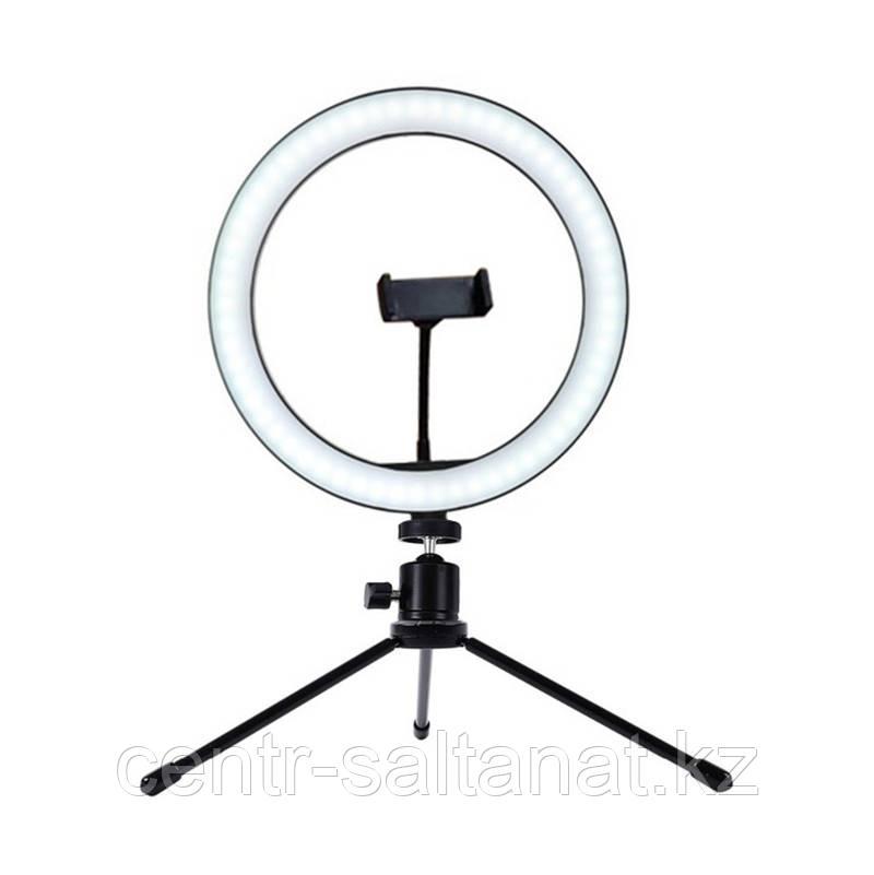 Лампа кольцевая настольная Led 23 см 10 w для визажистов, фото и видеосъемок