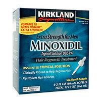 Minoxidil Kirkland (миноксидил) для густой шевелюры