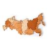 Карта России - уникальный деревянный пазл