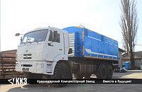 Азотная станция ТГА-10/251 шасси КАМАЗ 63501