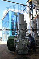 Компрессор для сжатия воздуха поршневой промышленный угловой