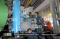 Ремонт компрессора для сжатия углекислого газа поршневого