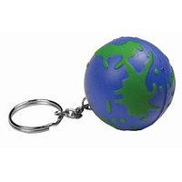 """Брелок-антистресс """"Земной шар"""", зеленый, синий, , 7202"""