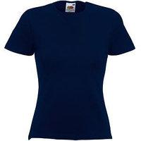 Футболка женская LADY FIT CREW NECK T 210, Темно-синий, XL, 613780.AZ XL