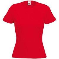 Футболка женская LADY FIT CREW NECK T 210, Красный, XS, 613780.40 XS