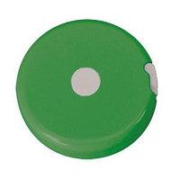 "Рулетка  ""Кнопка"" (1,5 м), Зеленый, -, 7313 15_light"