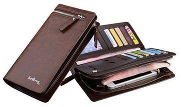 Клатч-портмоне мужской Baellerry Italia (Черный), фото 2